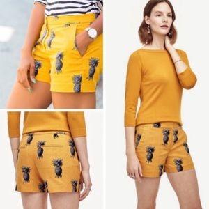 Ann Taylor Devin City pineapple short